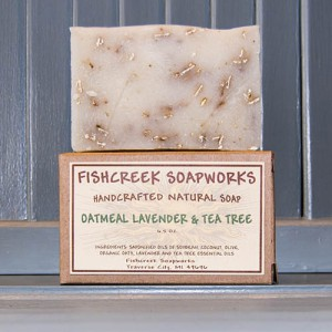 Oatmeal Lavender & Tea Tree Soap Bar